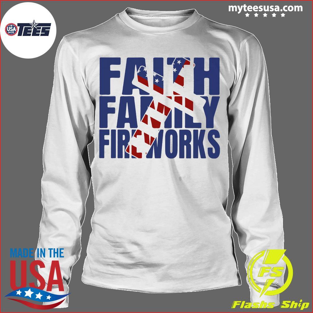 Faith family Fireworks Shirt Longsleeve