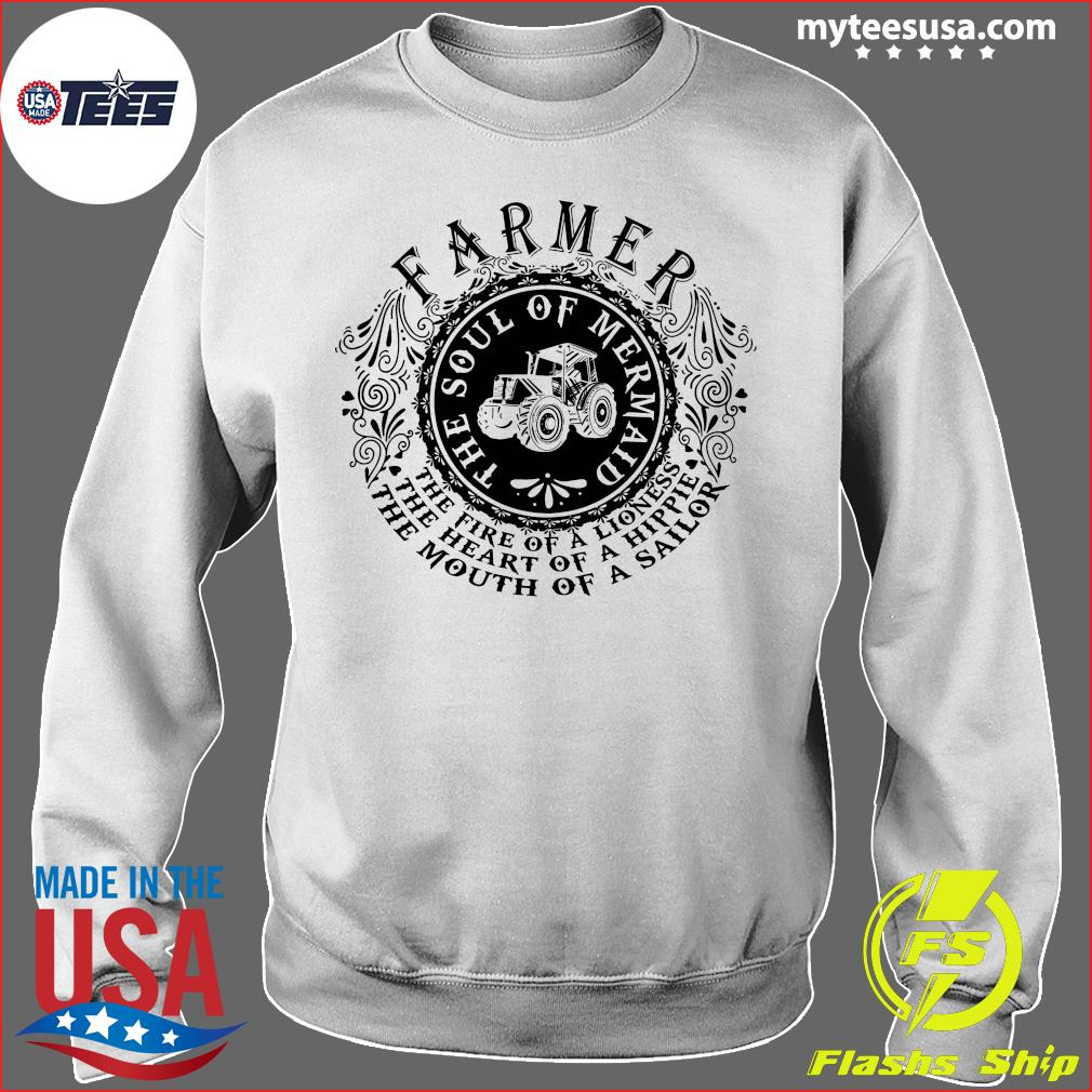Farmer The Soul Of Mermaid The Fire Of A Lioness Shirt Sweater