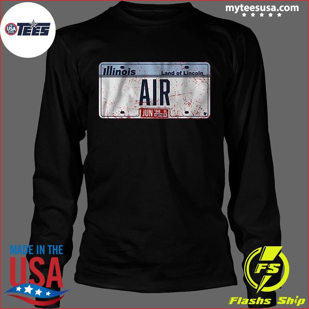 Illinois Land Of Lincoln Air Shirt Long Sleeve