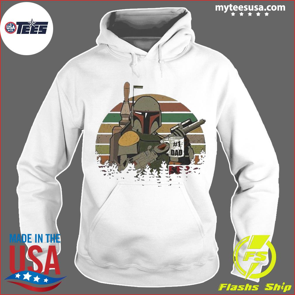 The Mandalorian Number One Dad Father Day Shirt Hoodie
