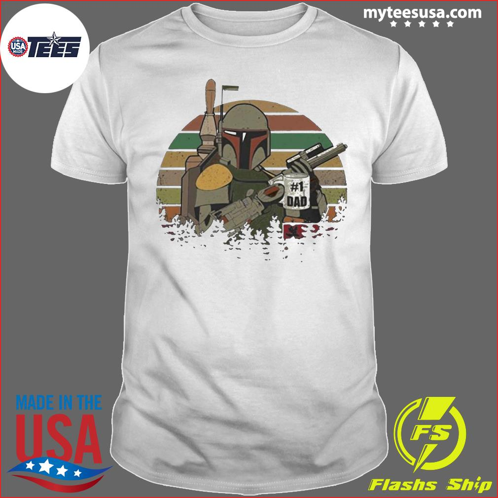 The Mandalorian Number One Dad Father Day Shirt