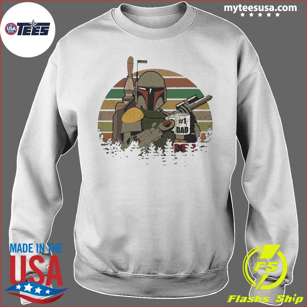 The Mandalorian Number One Dad Father Day Shirt Sweater