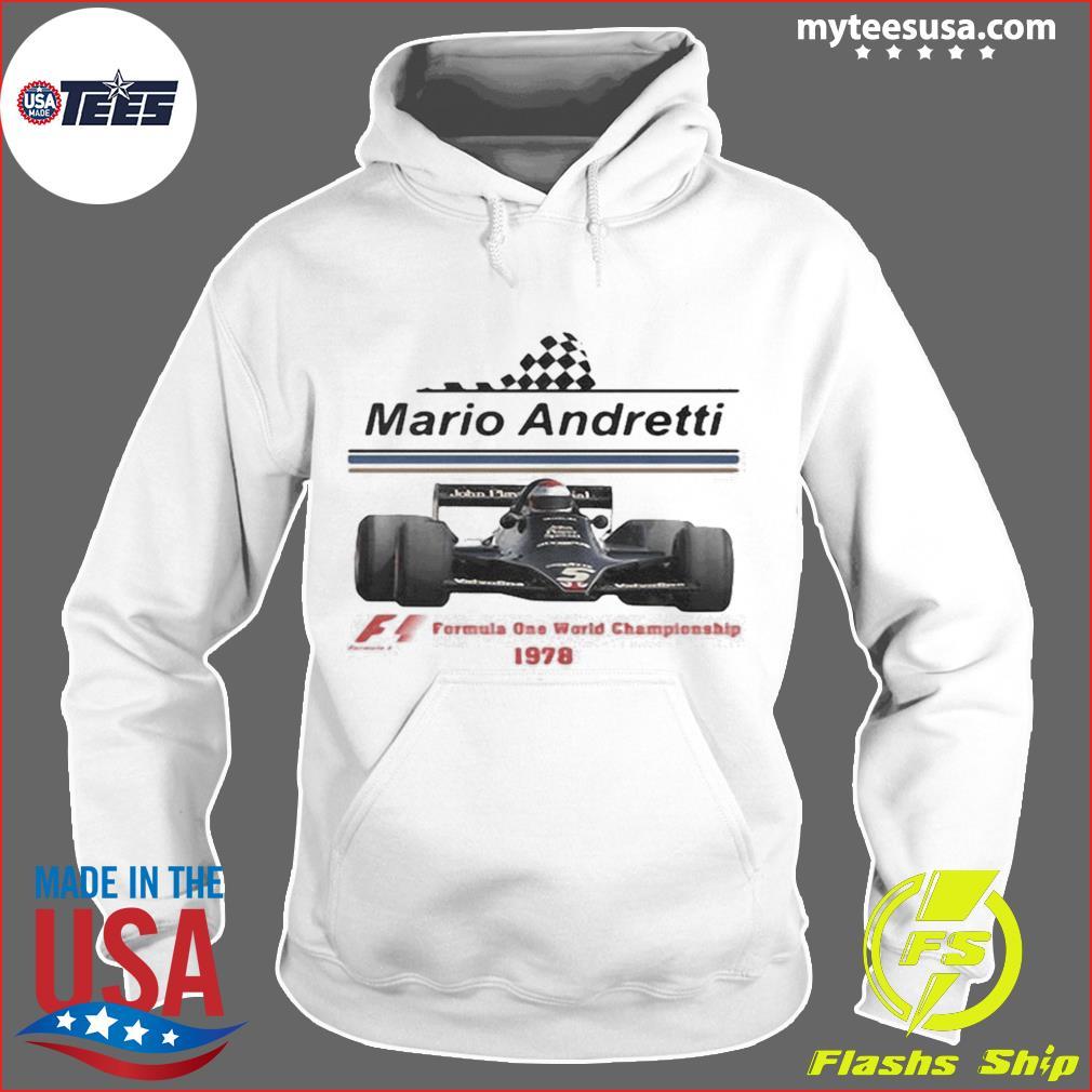 Mario andretti racing athletes formula one world championship 1978 s Hoodie