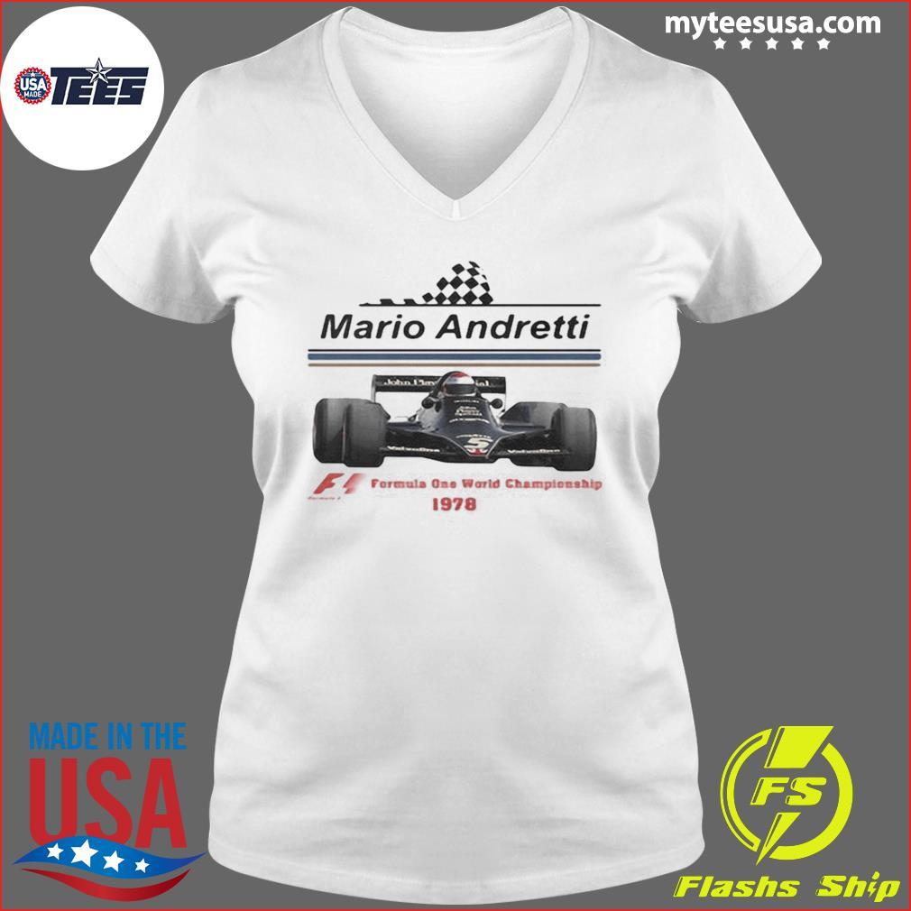 Mario andretti racing athletes formula one world championship 1978 s Ladies V-neck