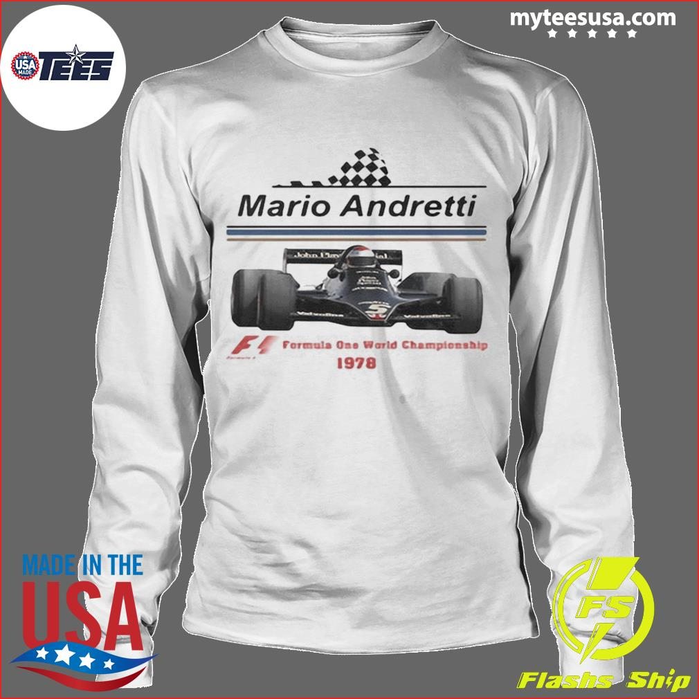 Mario andretti racing athletes formula one world championship 1978 s Longsleeve