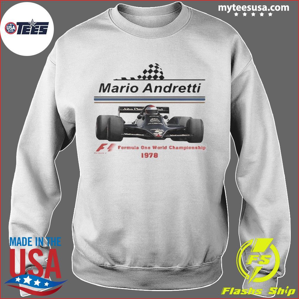 Mario andretti racing athletes formula one world championship 1978 s Sweater