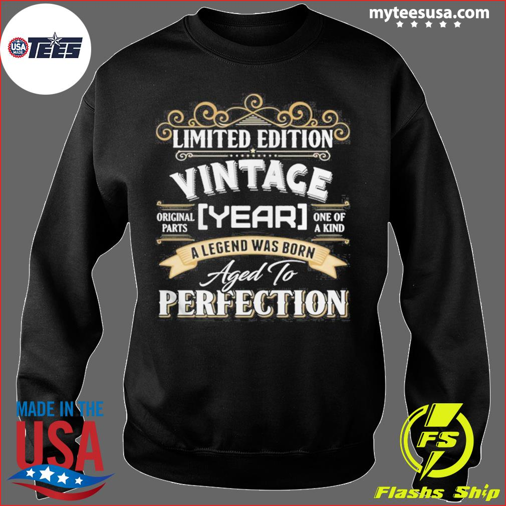Vintace Year A Legend Was Born Aged To Perfection s Sweater