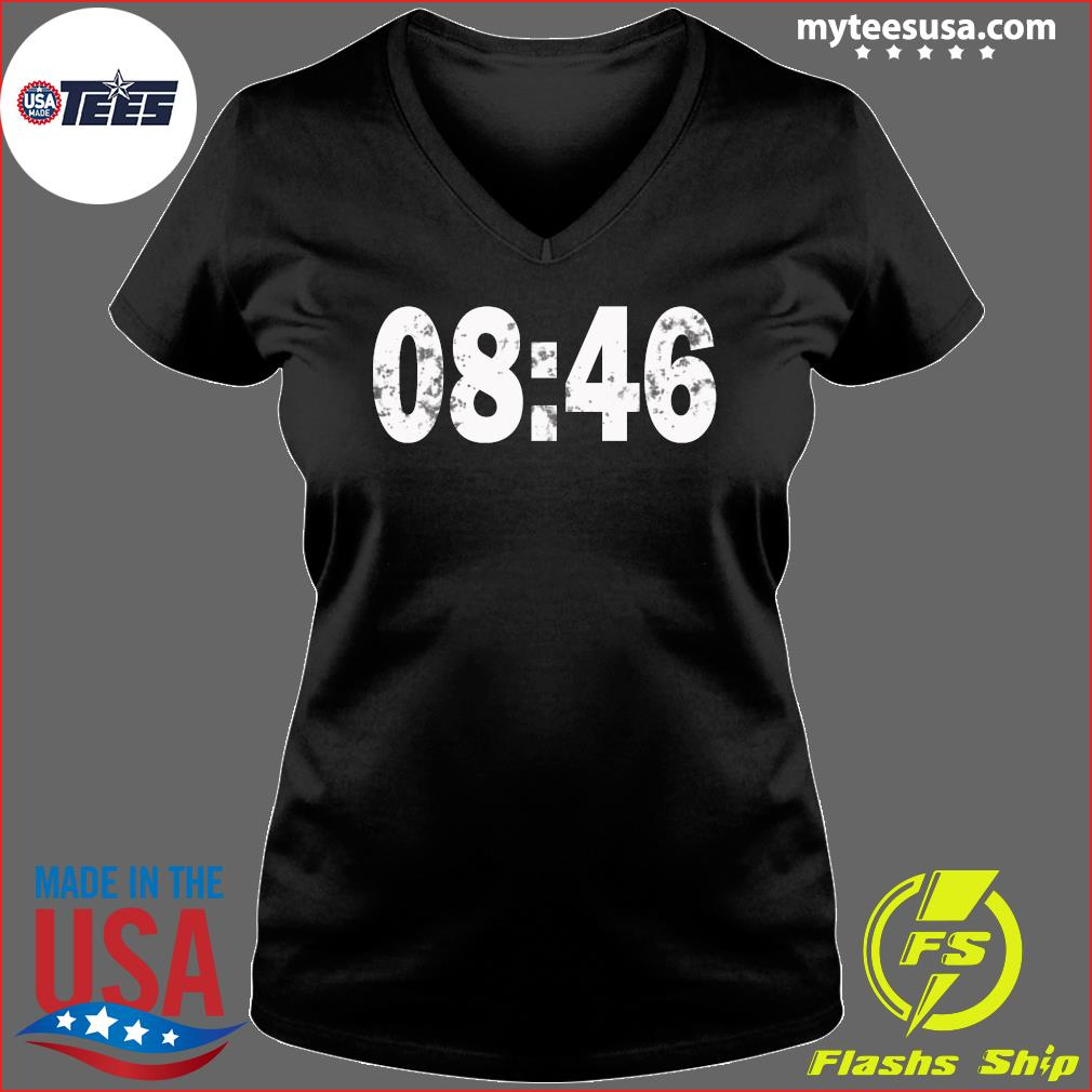0846 I Can't Breathe BLM Protest s Ladies V-neck