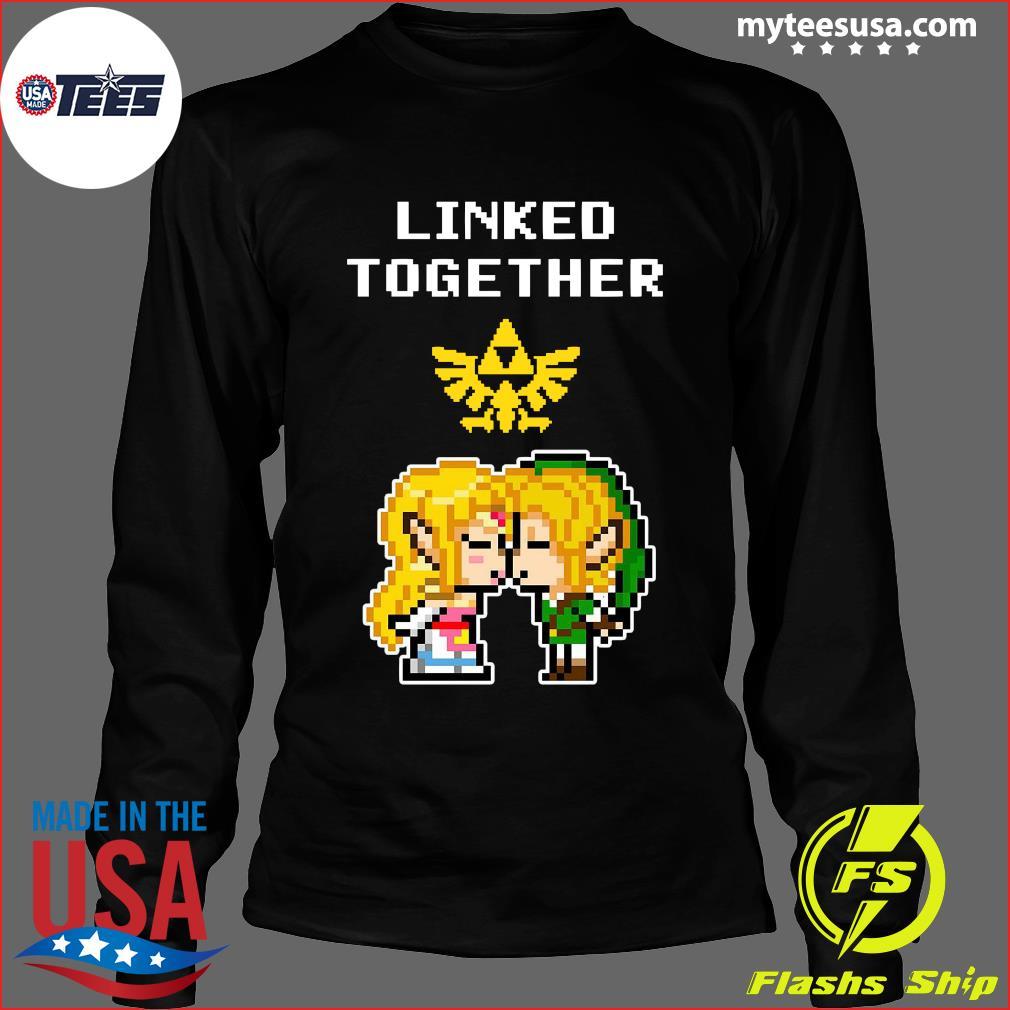 Linked Together Zelda X Link Shirt Long Sleeve