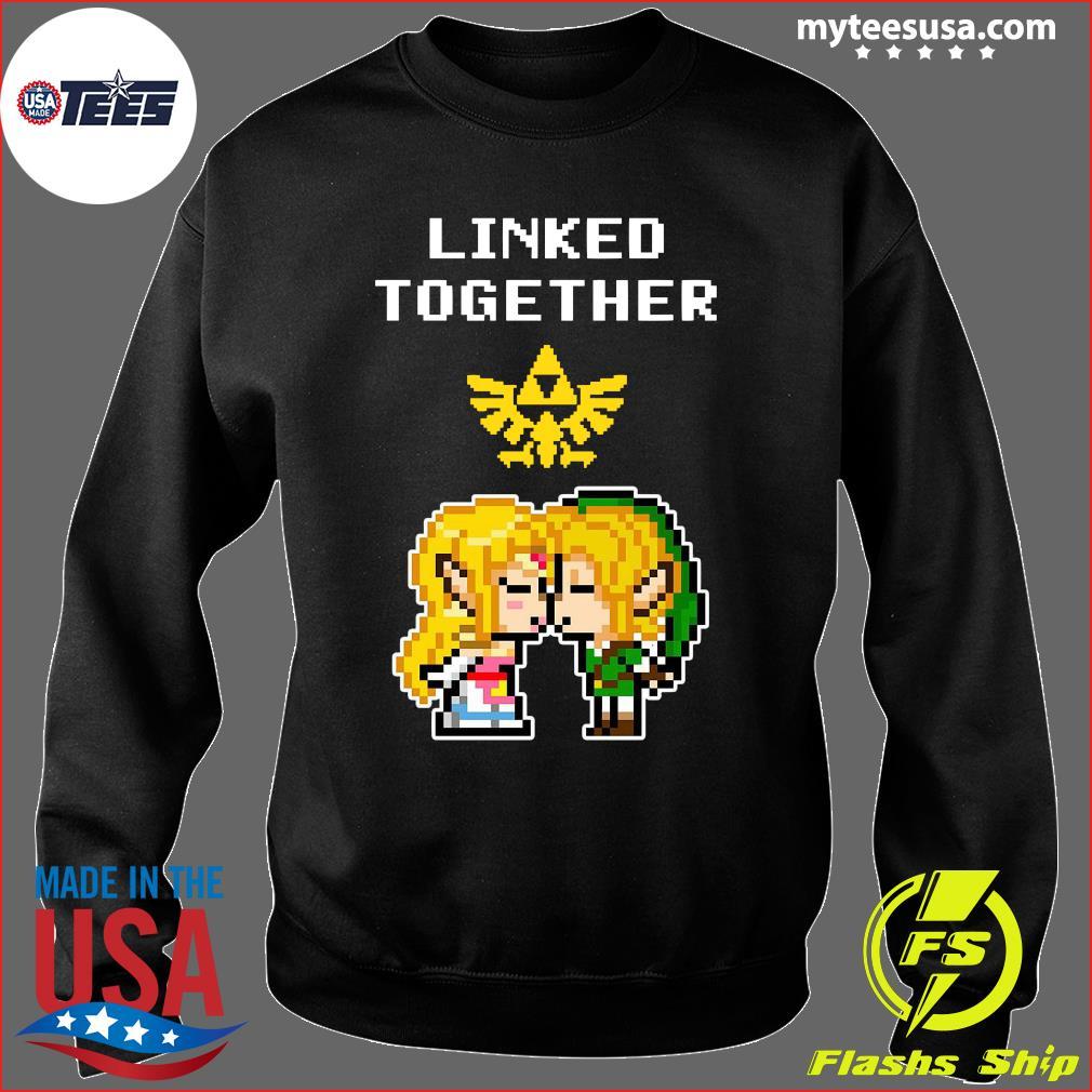 Linked Together Zelda X Link Shirt Sweater