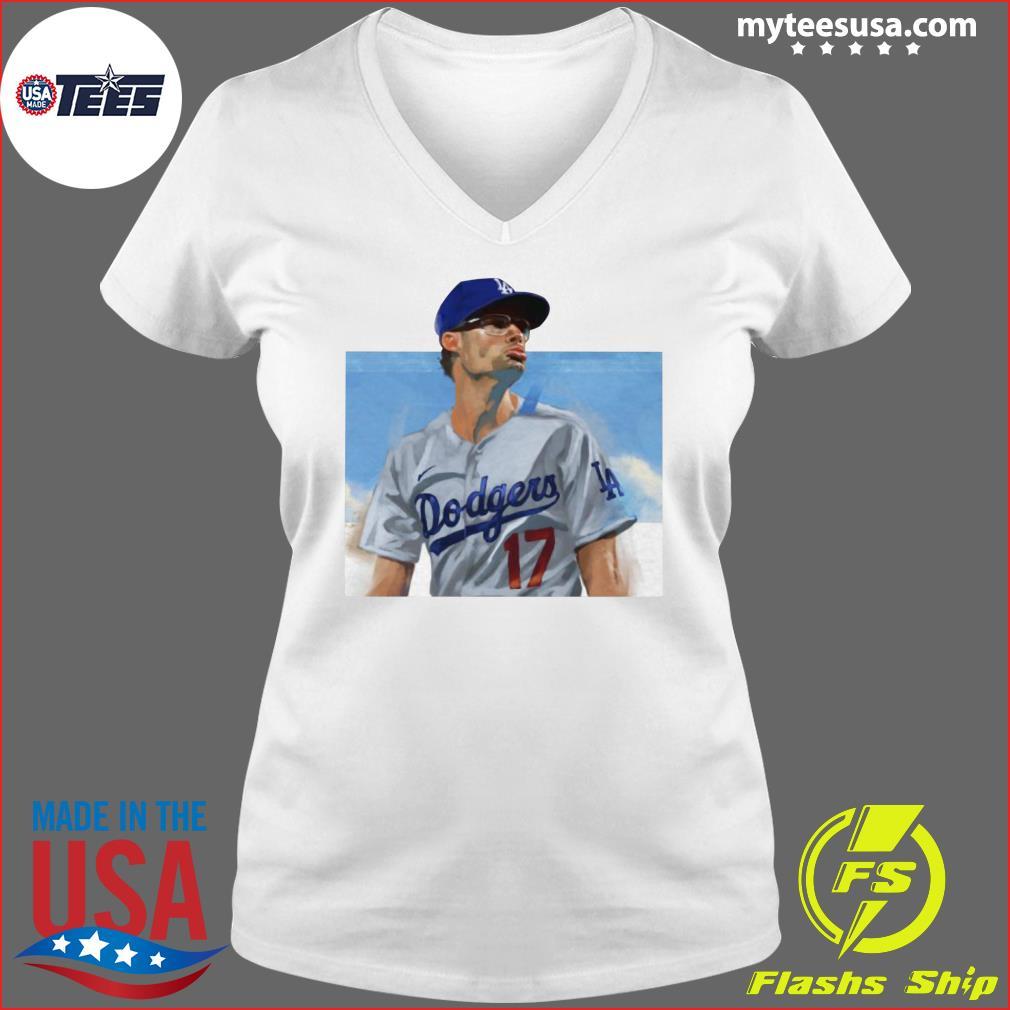 Joe Kelly Dodgers LA 17 Shirt Ladies V-neck