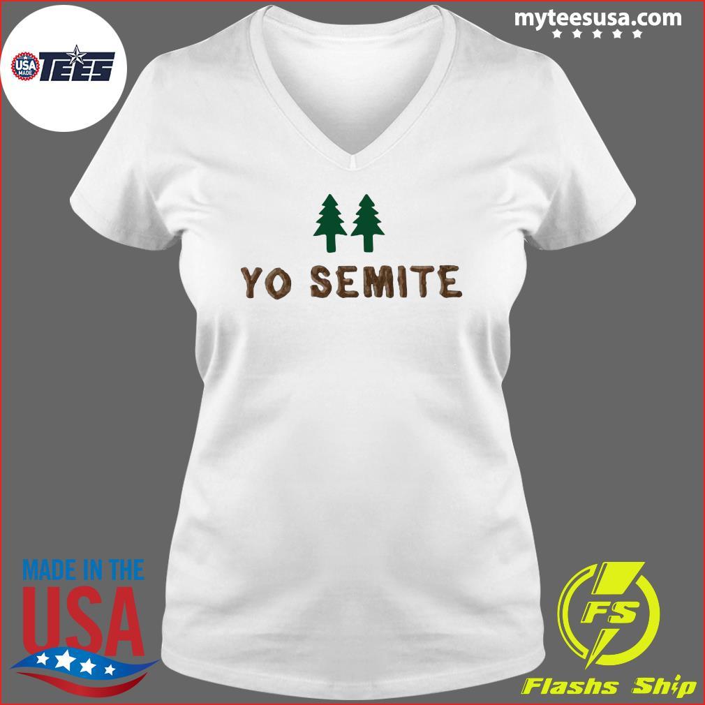 Official yo semite s Ladies V-neck