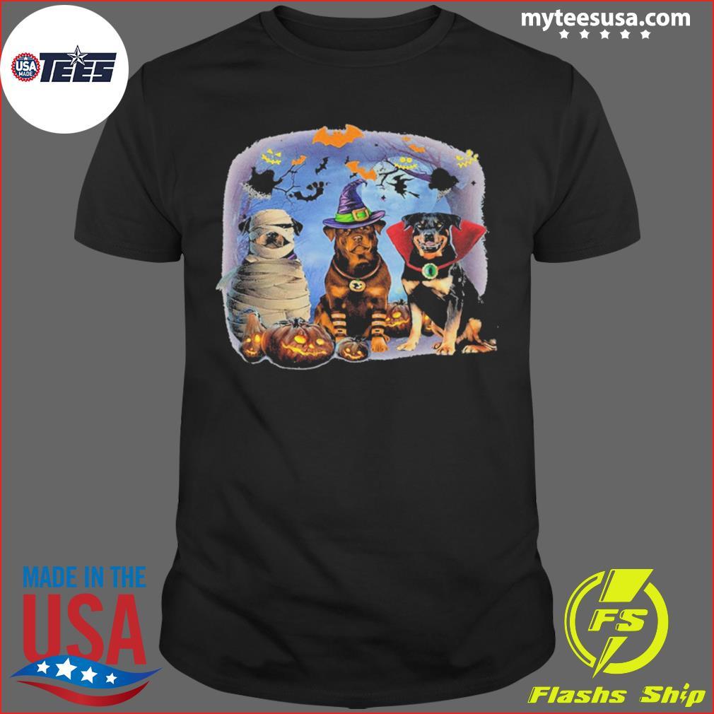 Pisces Rottweiler Halloween shirt