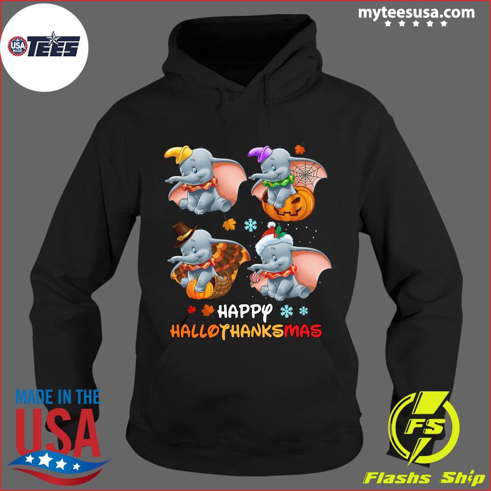 Disney Dumbo Happy Hallothanksmas T-Shirt Hoodie