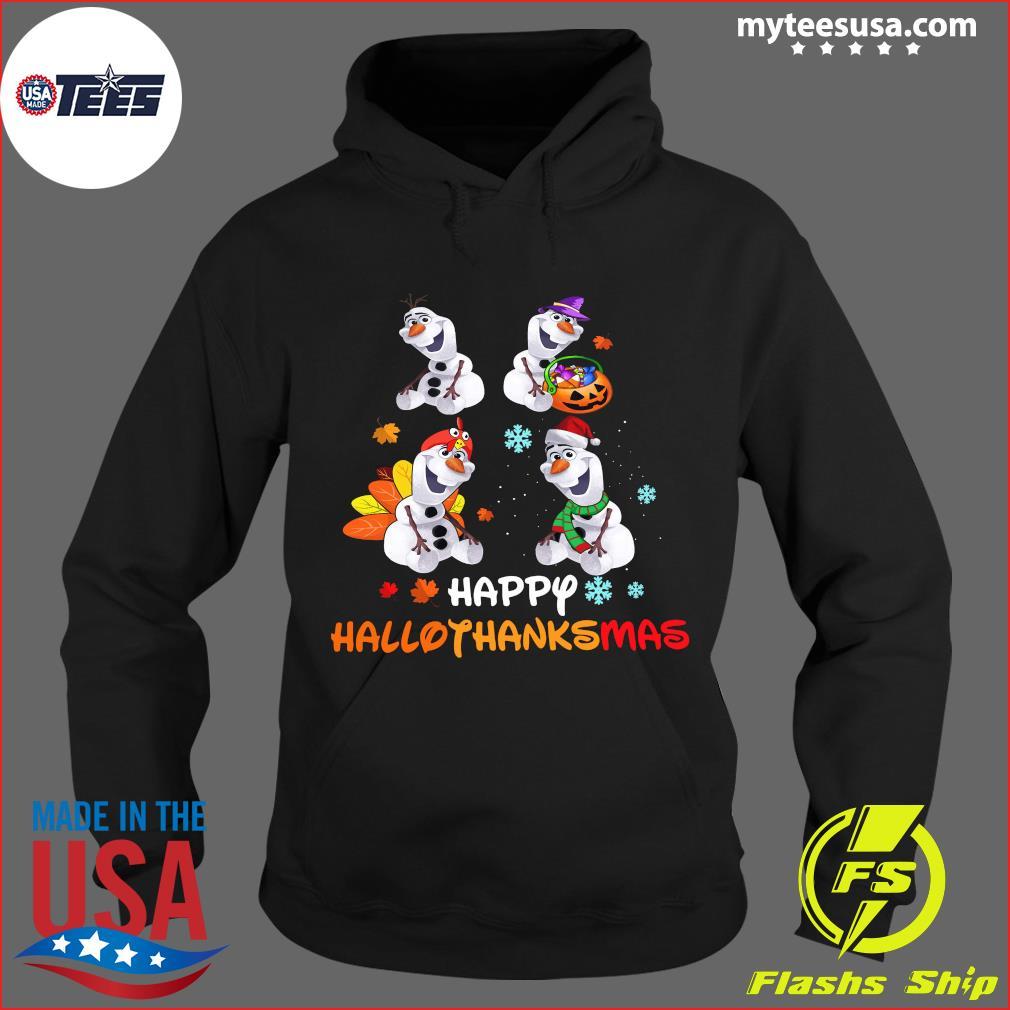 Disney Olaf Hallothanksmas T-Shirt Hoodie
