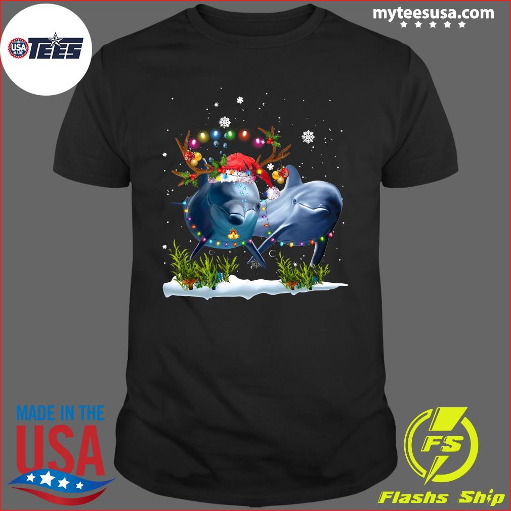 Dolphin Merry Christmas T-Shirt