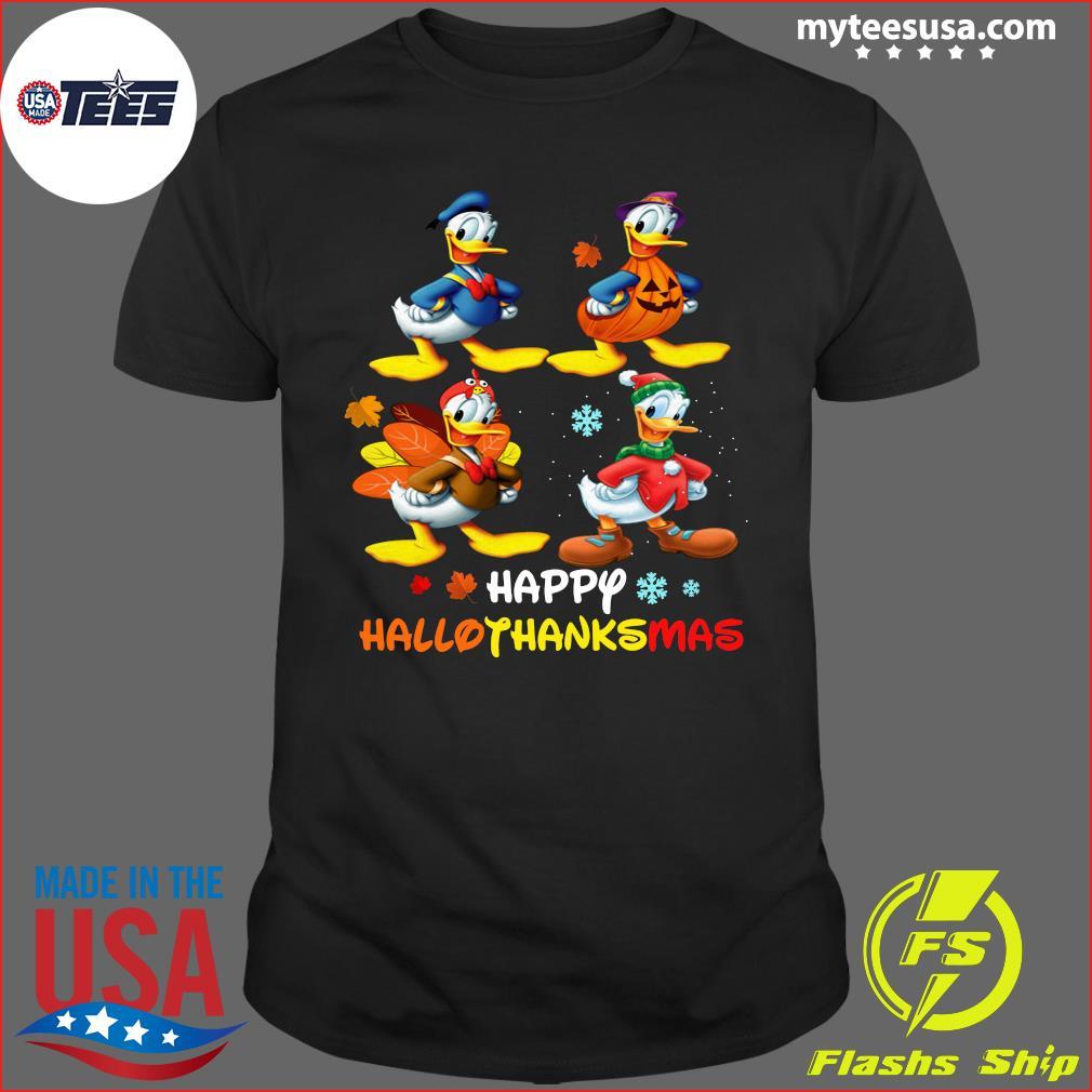 Donald Duck Happy Hallothanksmas T-Shirt