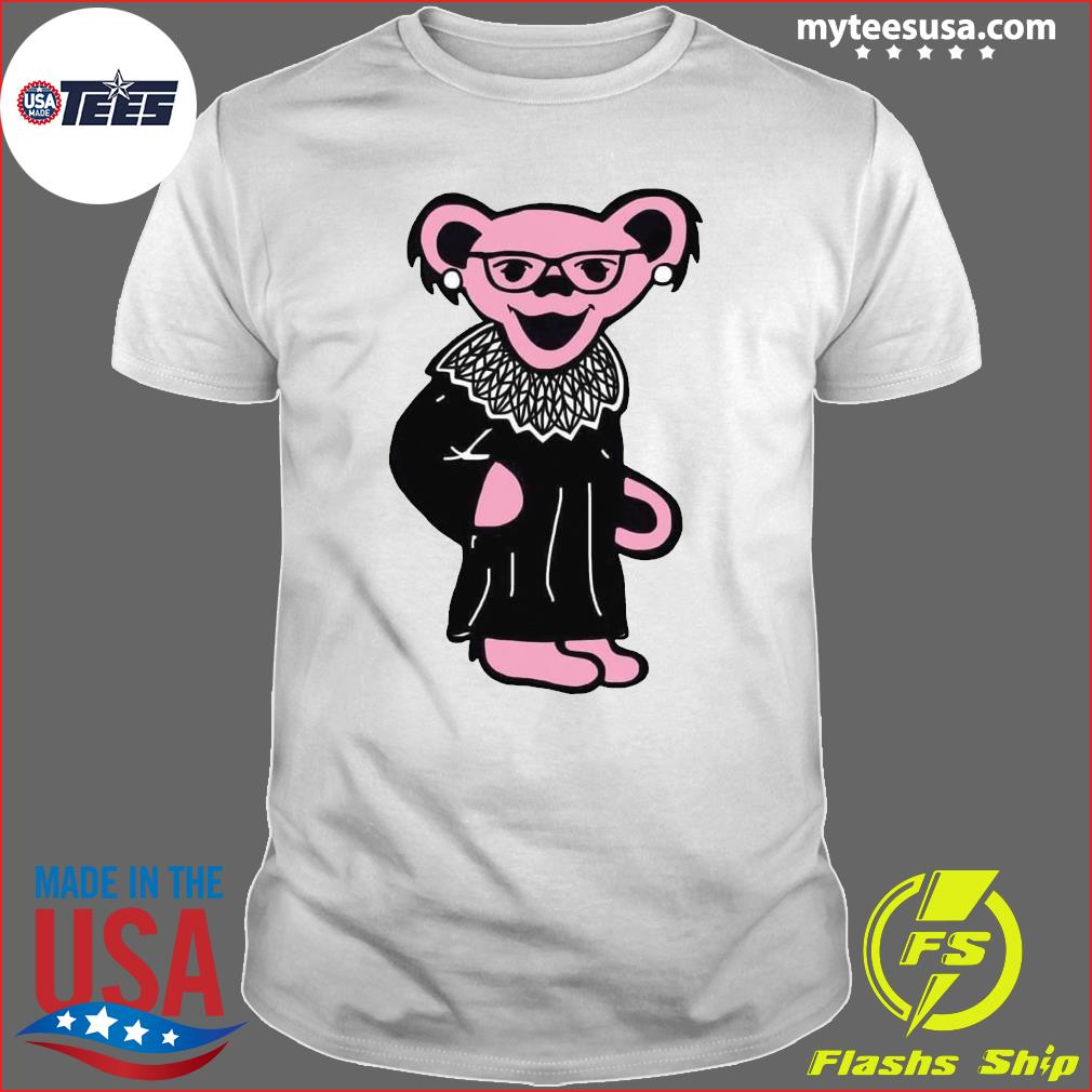 Grateful Dead Bear RBG Ruth Bader Ginsburg shirt