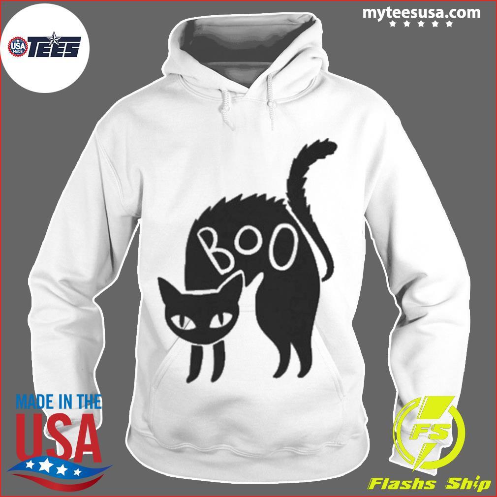 Halloween Black Cat Gift Spooky Boo Cat s Hoodie