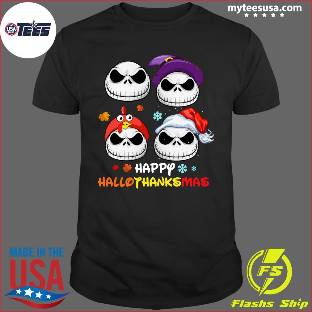 Jack Skellington Happy Hallothanksmas T-Shirt