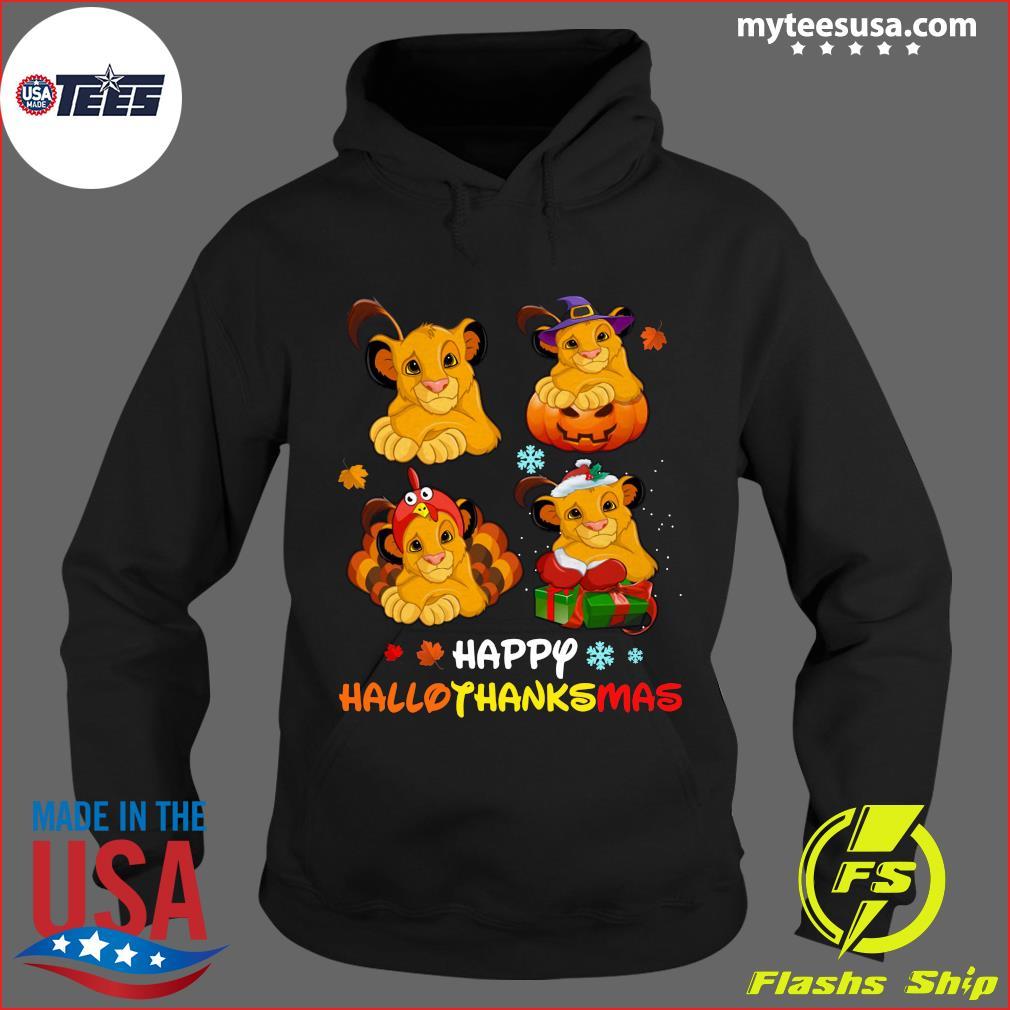 Lions Happy Hallothanksmas T-Shirt Hoodie
