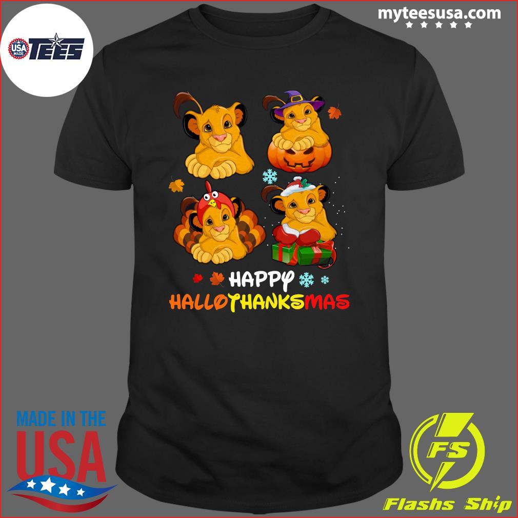 Lions Happy Hallothanksmas T-Shirt
