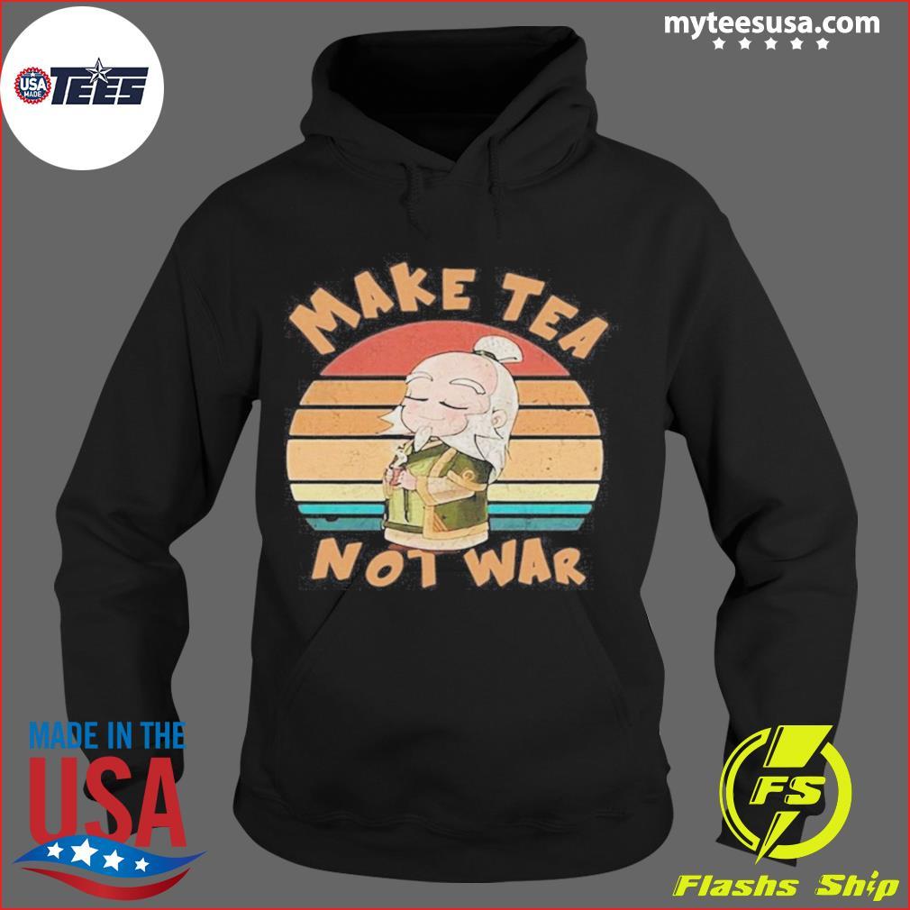 Make Tea Not War Vintage s Hoodie