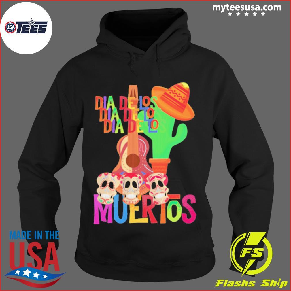 Mexicana Day Of The Dead Dia De Muertos Sugar Skull s Hoodie