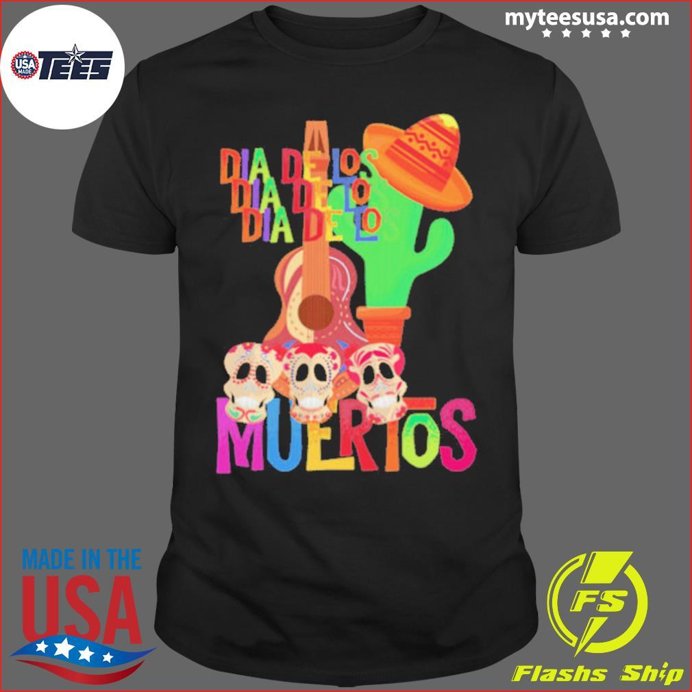 Mexicana Day Of The Dead Dia De Muertos Sugar Skull shirt