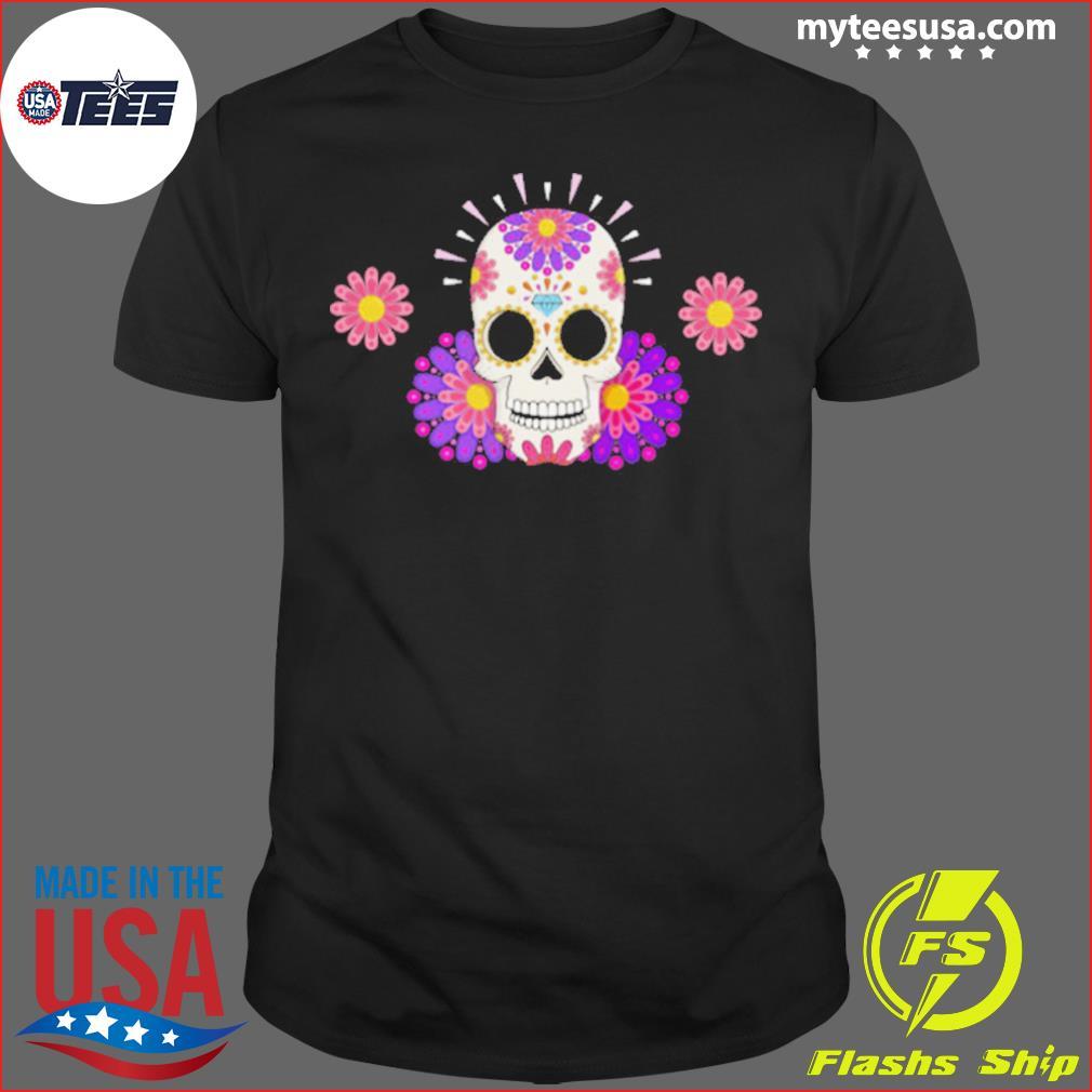 Muertos Day Of Dead Sugar Skull shirt