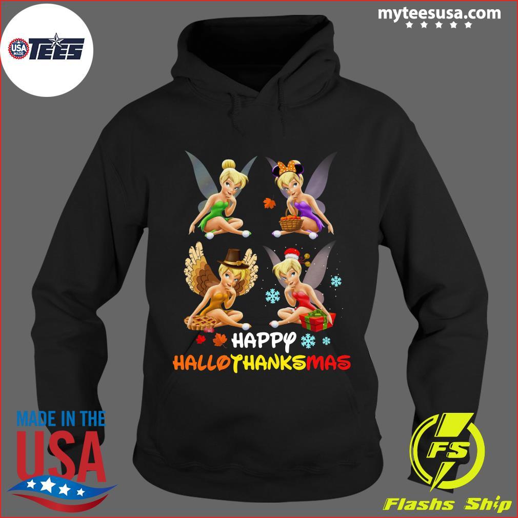 Official Tinkerbell Happy Hallothanksmas t-s Hoodie