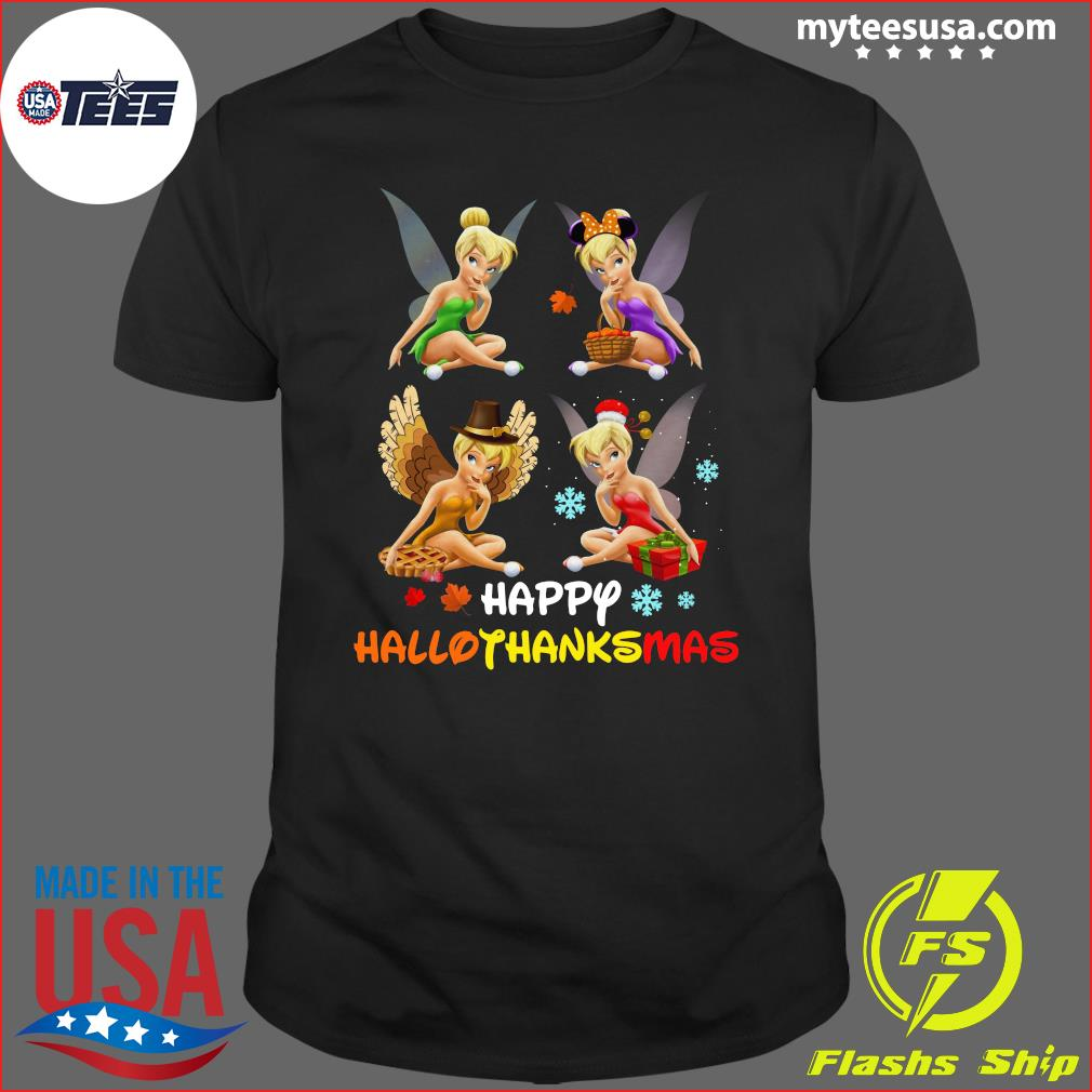 Official Tinkerbell Happy Hallothanksmas t-shirt