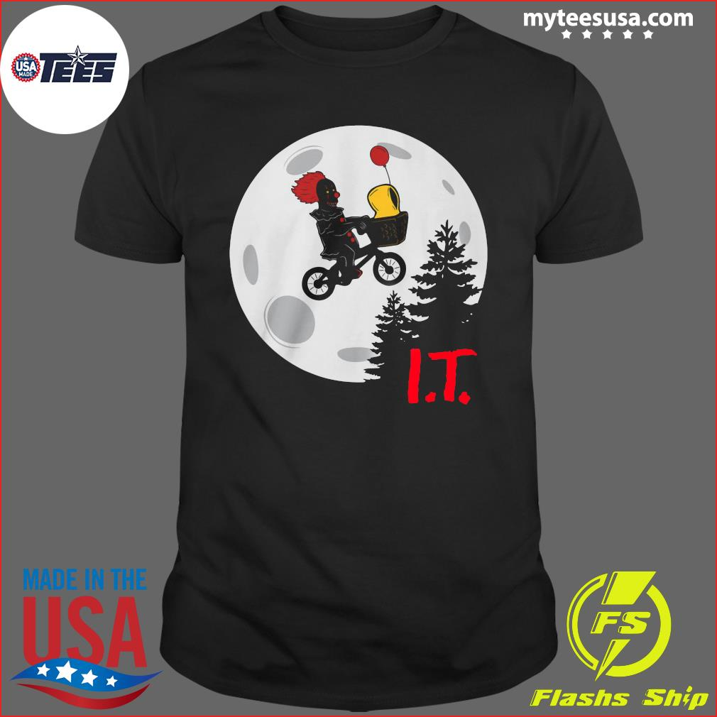 Pennywise I.T. Moon Halloween T-Shirt