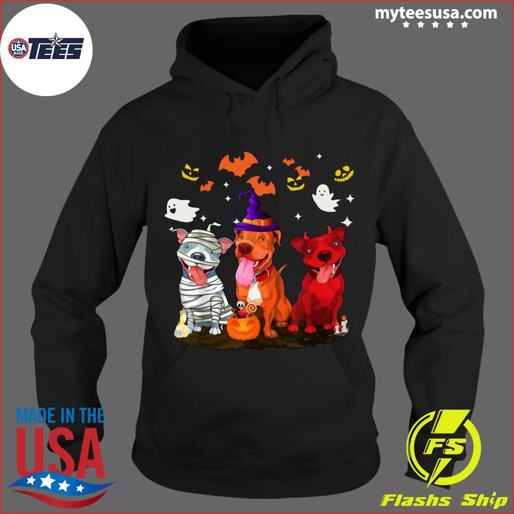 Pitbull Halloween T-Shirt Hoodie