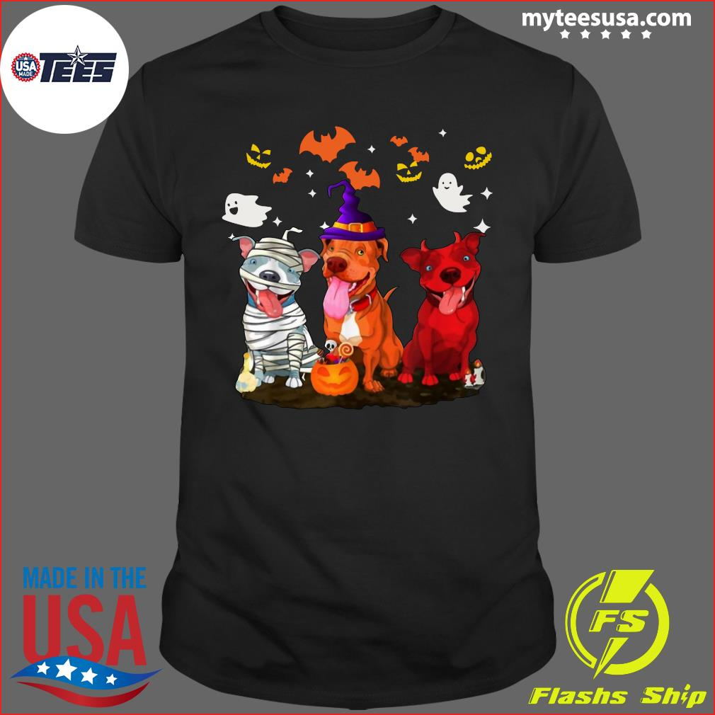 Pitbull Halloween T-Shirt