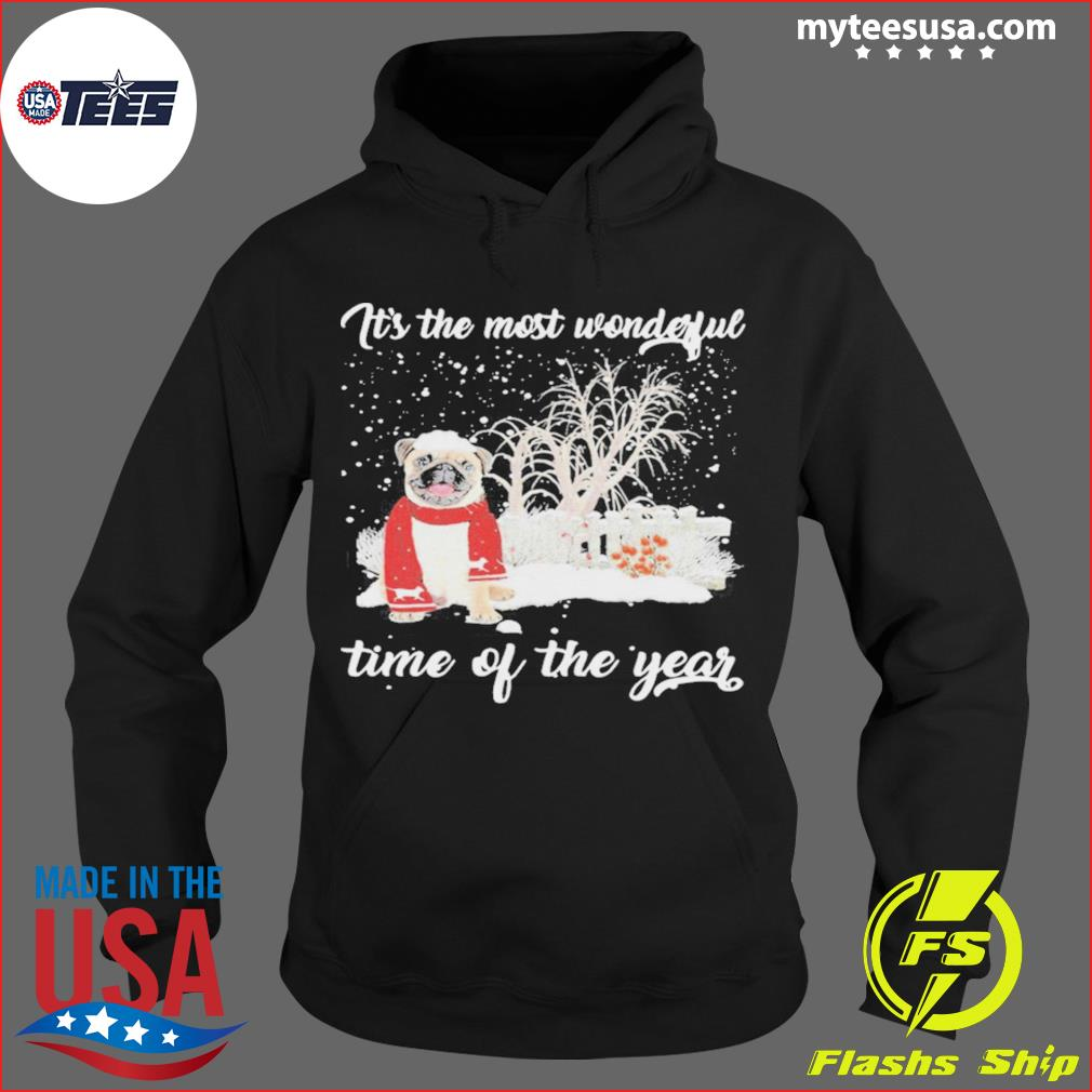 Pug Its The Most Wonderful Time Of The Year Halloween Shirt Hoodie