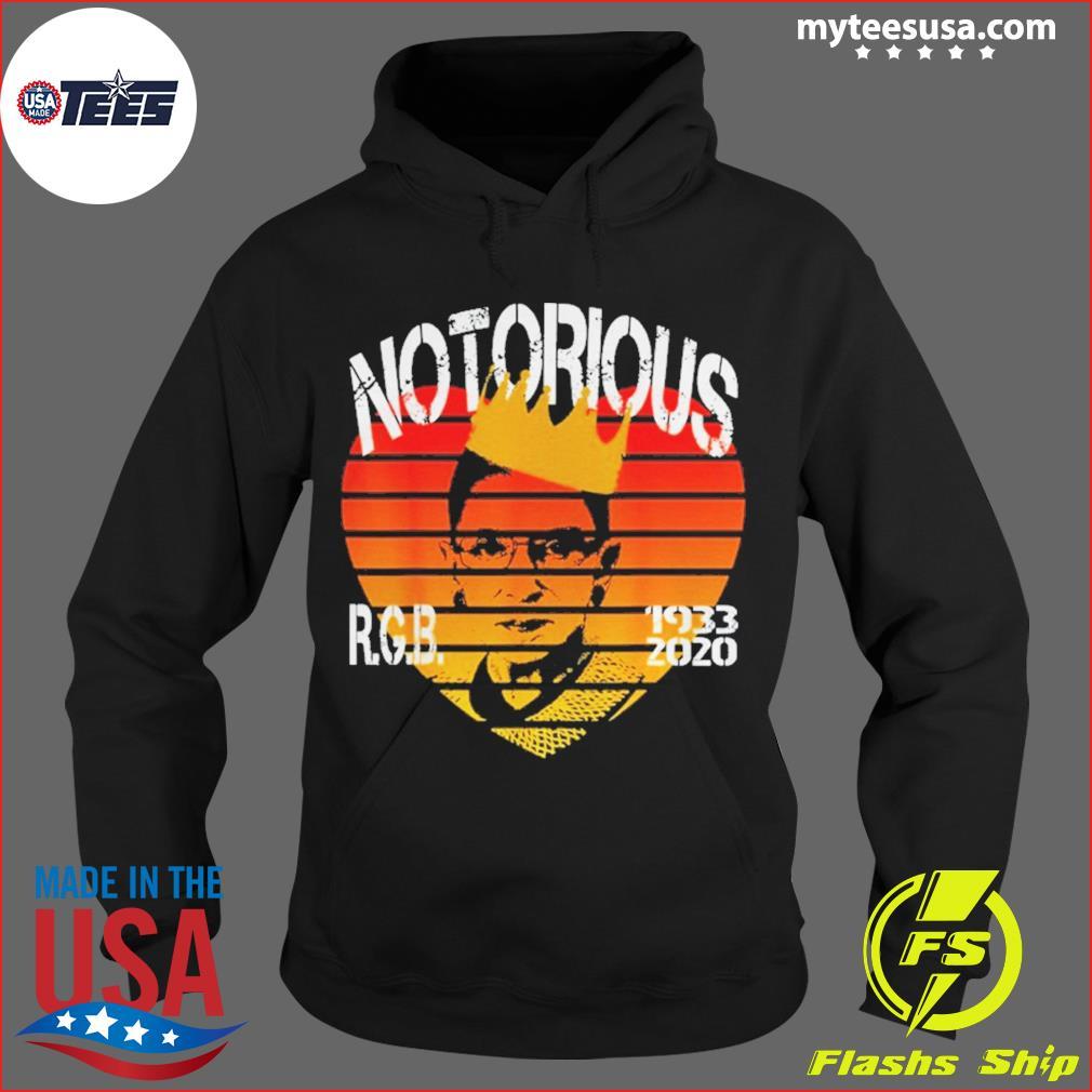 RIP Notorious RBG 1933 2020 Vintage Shirt Hoodie