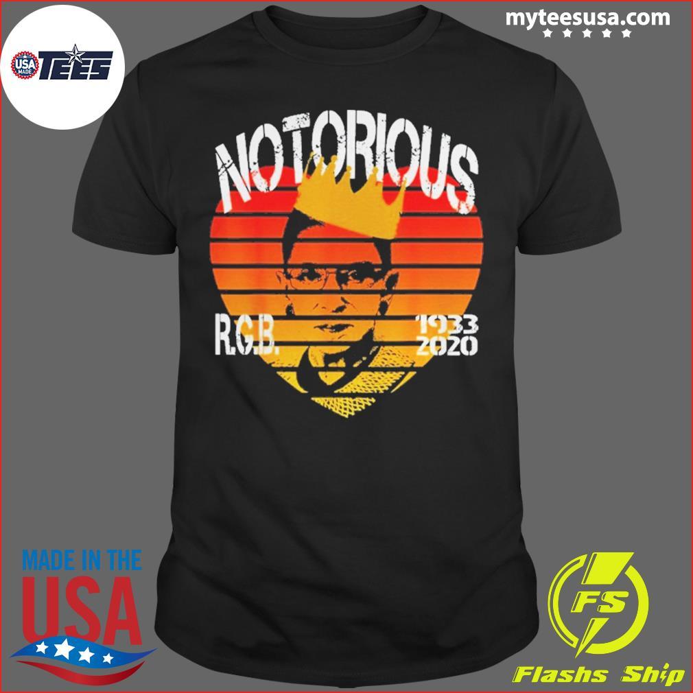 RIP Notorious RBG 1933 2020 Vintage Shirt
