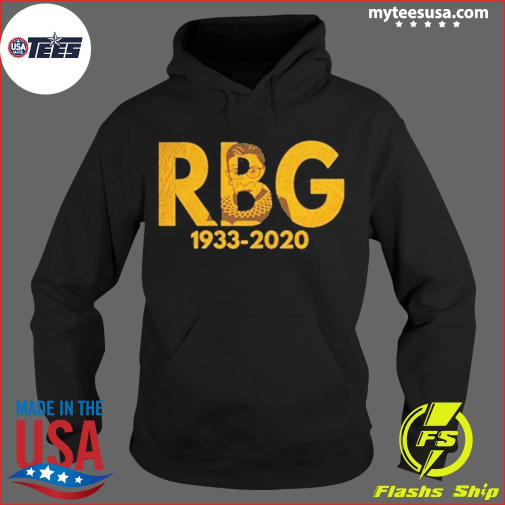 Rip Ruth Bader Ginsburn 1933 2020 Shirt Hoodie
