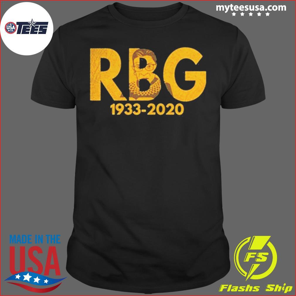 Rip Ruth Bader Ginsburn 1933 2020 Shirt