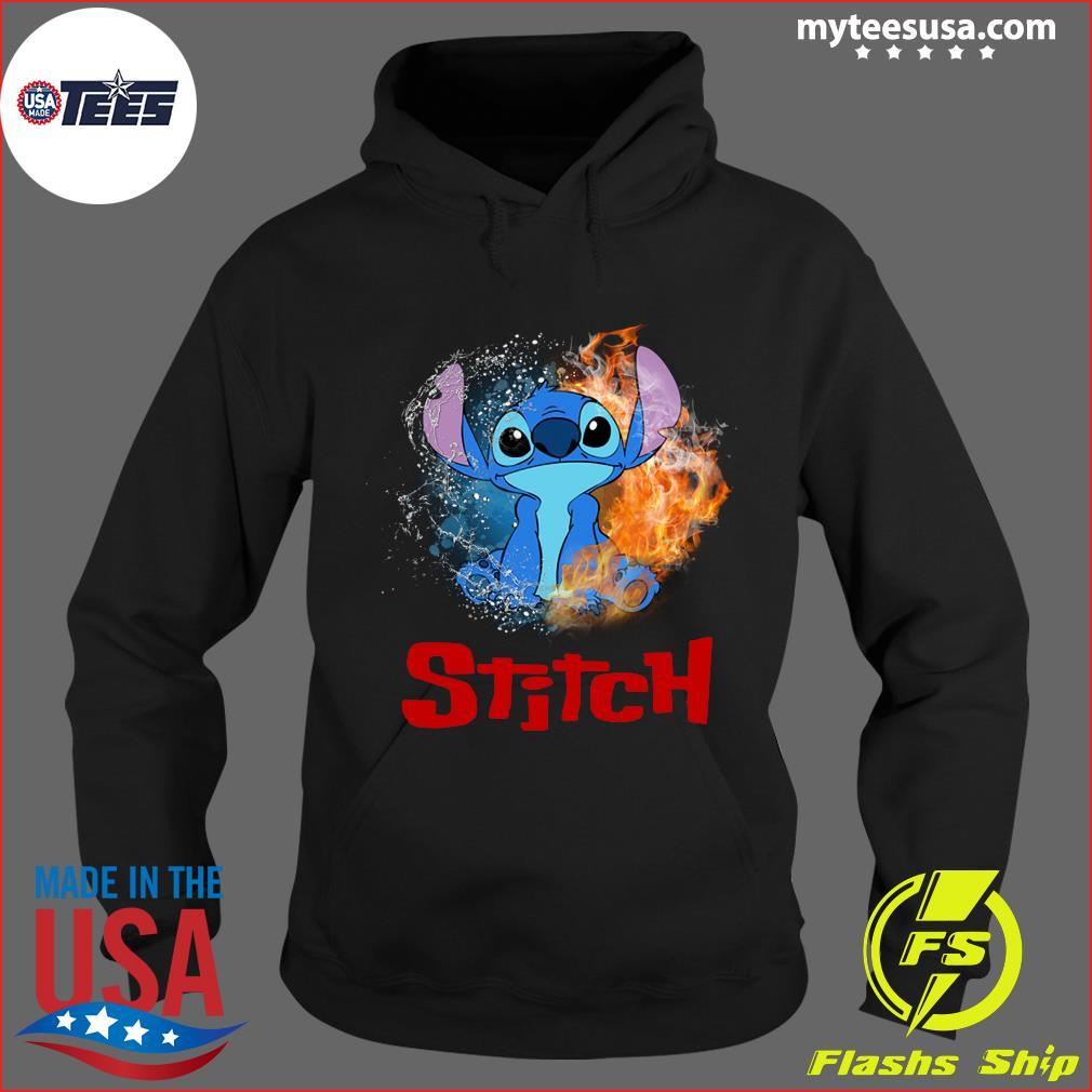 Stitch Water Fire T-Shirt Hoodie