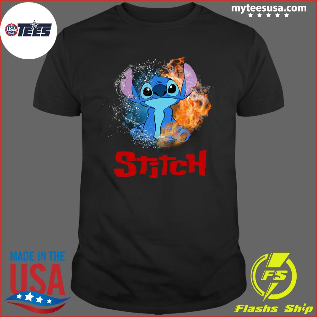 Stitch Water Fire T-Shirt