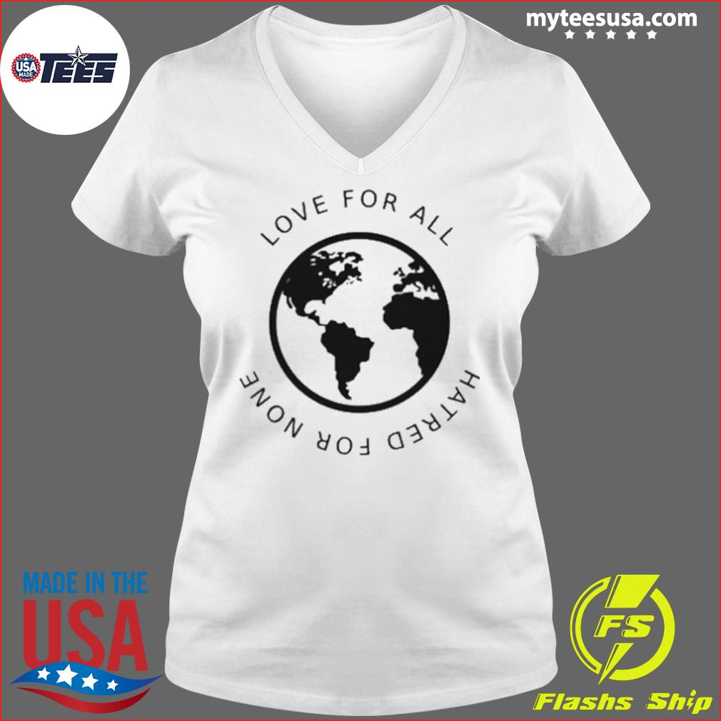 Love For All Hatred For None s Ladies V-neck